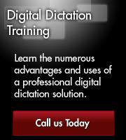 Digital Dictation Training