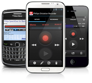 Philips dictation recorder for smartphones