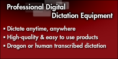 Professional Digital Dictation Equipment