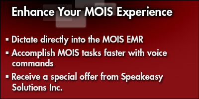Enhance Your MOIS Experience with Dragon® Medical Practice Edition