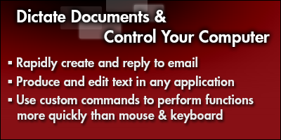 Dictate Documents & Control Your Computer