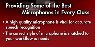 Providing Some of the Best Microphones in Every Class