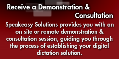 Receive a Demonstration & Consultation