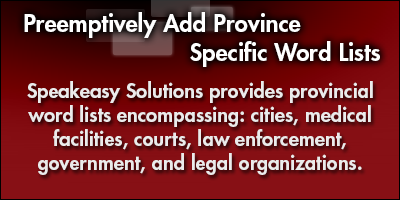 Preemptively Add Province Specific Word Lists