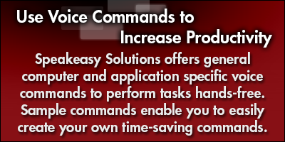 Use Voice Commands to Increase Productivity