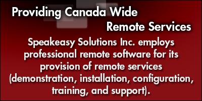 Providing Canada Wide Remote Services