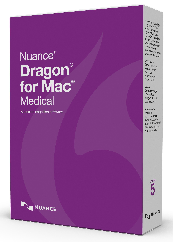 Dragon for Mac Medical