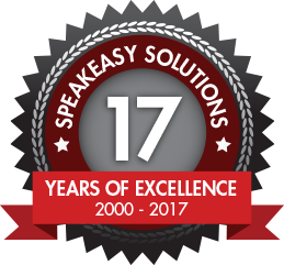 Speakeasy Solutions 17th Anniversary 2000 - 2017