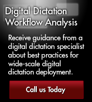 Digital Dictation Workflow Analysis