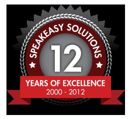 Speakeasy Solutions Inc. -- 12 Years