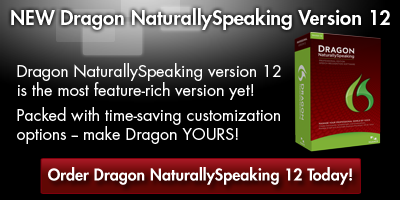 Order the new Dragon NaturallySpeaking Version 12 in Canada Today