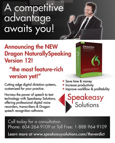 Dragon ad for The Verdict