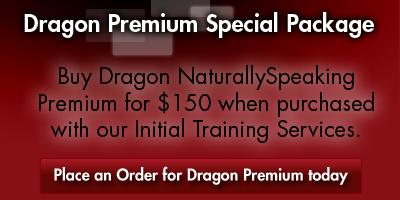 Order Dragon NaturallySpeaking Premium for $150