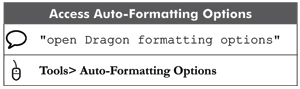 Dragon NaturallySpeaking version 12 training workbook mini summary