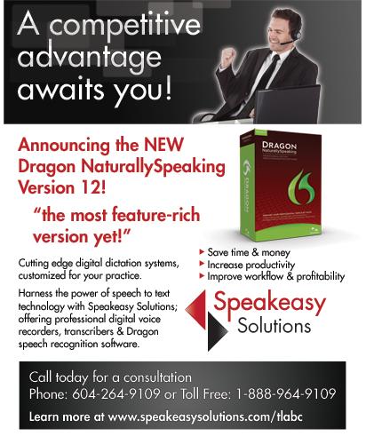 Dragon ad for TLABC