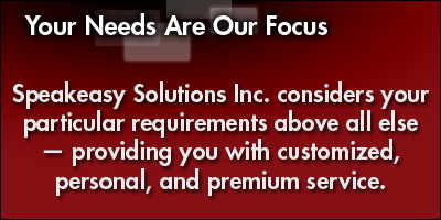 Your Needs Are Our Focus