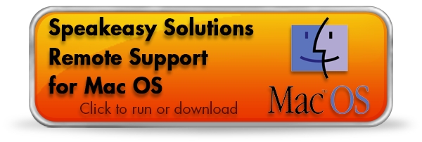 Speakeasy Solutions Remote Support Application for Mac