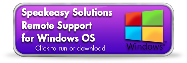 Speakeasy Solutions Remote Support Application