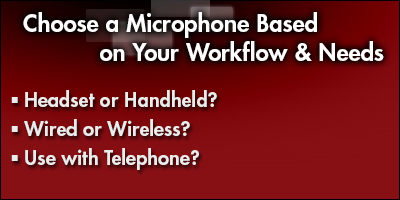 Choose a Microphone Based on Your Workflow & Needs