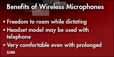 Benefits of Wireless Microphones