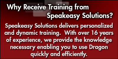 Why Receive Training from Speakeasy Solutions Inc.?