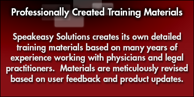 Professionally Created Training Materials for Professionals