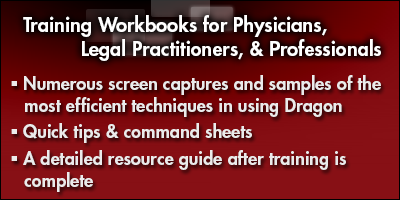Training Workbooks for Physicians, Legal Practitioners, & Professionals