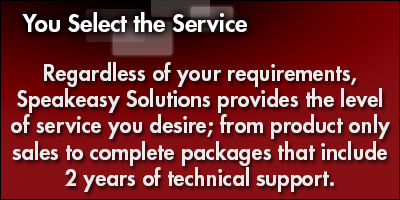 You Select the Service