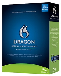 Dragon® Medical Practice Edition V2 French Francais