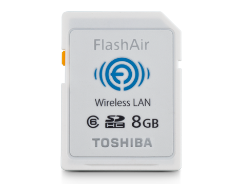 Toshiba FlashAir Wireless SD Card for DS-7000