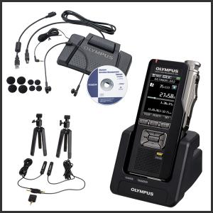 Digital Voice Recorders, Transcribers, & Peripherals