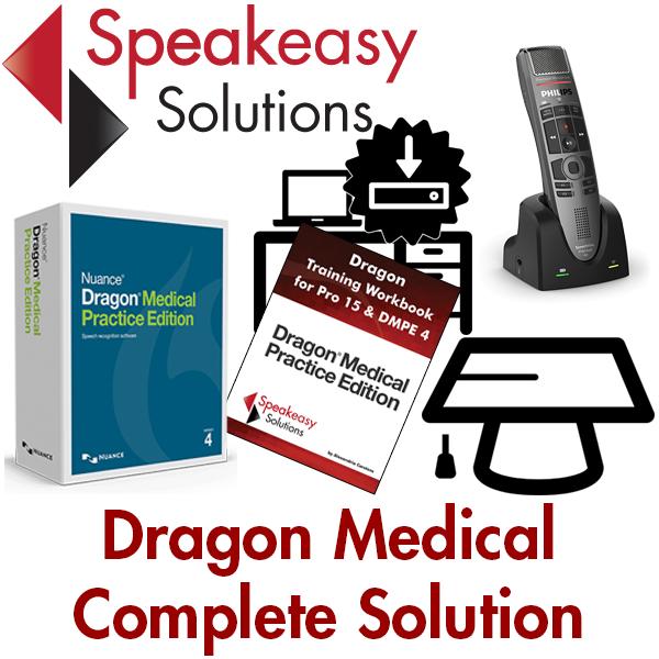 Dragon Medical Practice Edition 4 in Canada | Speakeasy Solutions