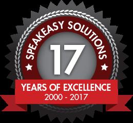 Speakeasy Solutions 16th Anniversary 2000 - 2017